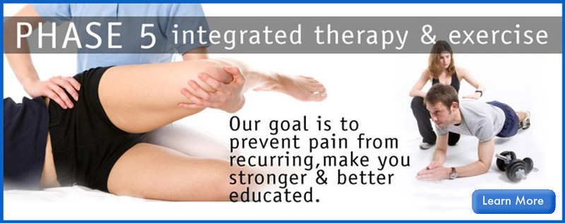 PHASE 5 Integrate Therapy & Training